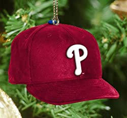 Philadelphia Phillies The Memory Company MLB Baseball Cap Ornament MLB Baseball Fan Shop Sports Team Merchandise