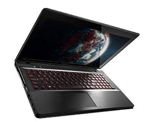 Lenovo Ideapad Y500 39.62 cm (15.6 Zoll) Notebook (Intel Core i7 3630QM 2,4GHz, 8GB RAM, 1TB HDD, 2 x (SLI) NVIDIA GT 650M, Windows 8) schwarz