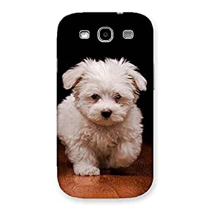 Ajay Enterprises Cute Walking Dog Back Case Cover for Galaxy S3