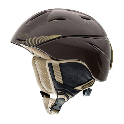 SMITH Damen Ski- und Snowboardhelm Intrigue, Bronze Keys, M (55-59 cm), 3001000445