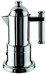 Vev Vigano 8194 Kontessa Inox 4-cup Coffee Pot by Vev Vigano