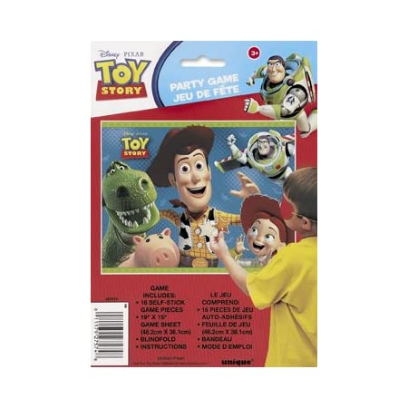 Adventures With Disney Pixar's Toy StoryPlay a classic game with everyone's favorite gang of toys using Disney's Toy Story Party Game. This Pixar game includes our most beloved toys such as Woody, Jessie, Rex, Hamm, and Buzz Lightyear! Your little on...