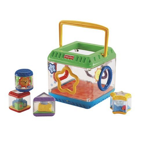 Fisher Price Peek-A-Blocks: Shape Sorter - 1