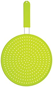 Colourworks Silicone Splatter Screen, 28 cm - Green