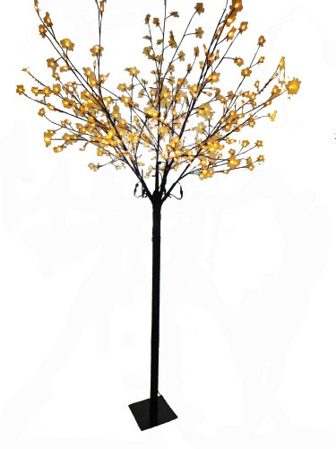 Creative Motion 86.6-Inch Height Maple Tree With 300 Warm White Led Lights