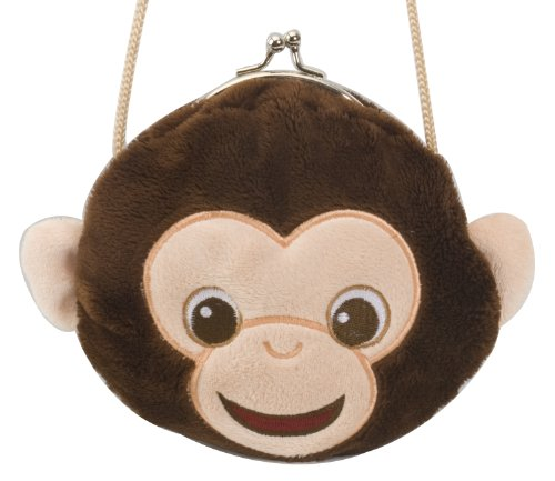 "Clasp Purse Chimp 6"" by Wild Republic"
