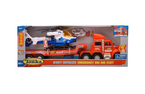 Buy Tonka Mighty Motorized Emergency Big Rig Fleet