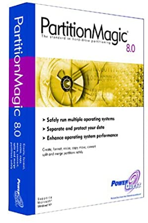 PartitionMagic 8.0-5 Pack
