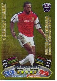 Match Attax 2011/12 Golden Moments GM20 Thierry Henry [Toy]