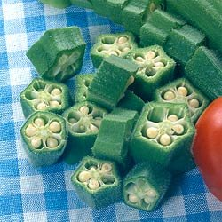 Buy Okra Cow Horn – Park Seed Okra Seeds