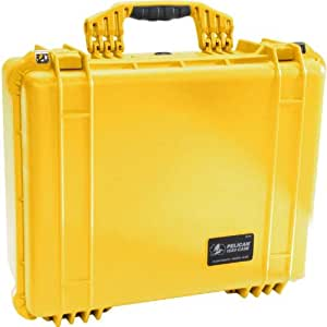 Pelican 1550 Case w/Foam (Yellow)