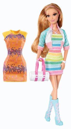y mattel  barbiedoll life