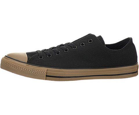 Converse Unisex All Star Chuck Taylor Ox Black/Gum Basketball Shoe 11 Men US