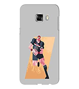 EPICCASE Rugby me Mobile Back Case Cover For Samsung C5 (Designer Case)