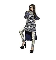 NIK CREATION Women's Georgette Semi-Stitched Stylish pattern Suit