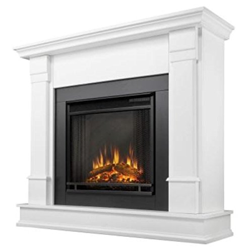 Check Out This Real Flame Silverton Ventless Gel Fireplace - White