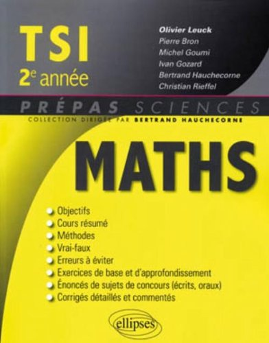 mathematiques-tsi-2e-annee