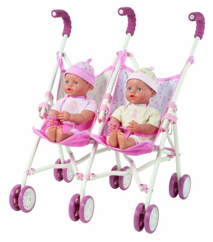 Zapf Creation My Little Baby Born® Interactive Twins, 32Cm