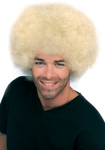 Rubie's Costume Blond Afro Wig
