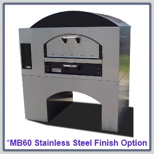 "Marsal Mb-60 Brick Lined Oven (80"" Wide) : Marsal Mb-60::Ng::Dbl::Granitef&S (+ $150 Export)"