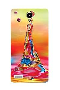 ZAPCASE PRINTED BACK COVER FOR REDMI NOTE 2 - Multicolor