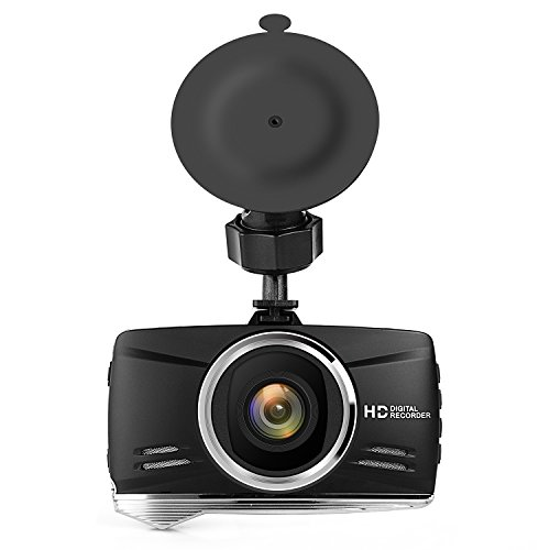 Telico C21 Pro FHD 1080P Dash Cam 170° Wide Angle Dashboard Car Camera Recorder with G-Sensor WDR Night Vision Loop Recording