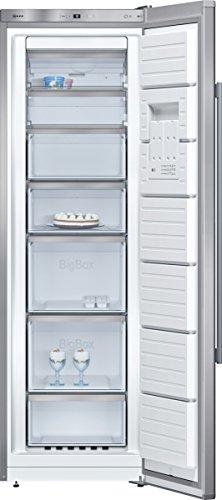 Neff - Congélateur armoire 60cm 237l no frost a++ inox - gs7343i30