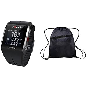 Buy Polar - V800 GPS Sports Watch with Heart Rate Monitor and Bag- Black by Polar
