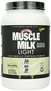 CytoSport Muscle Milk Light, Vanilla Creme, 3.09 Pound