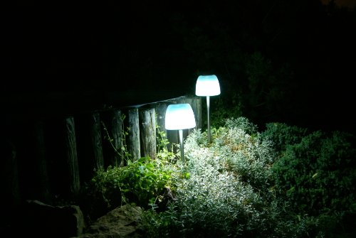 led designer solarlampe qualle solarleuchte gartenlampe. Black Bedroom Furniture Sets. Home Design Ideas