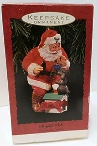 Hallmark Keepsake Ornament 1993 Playful Pals Coca-Cola Santa
