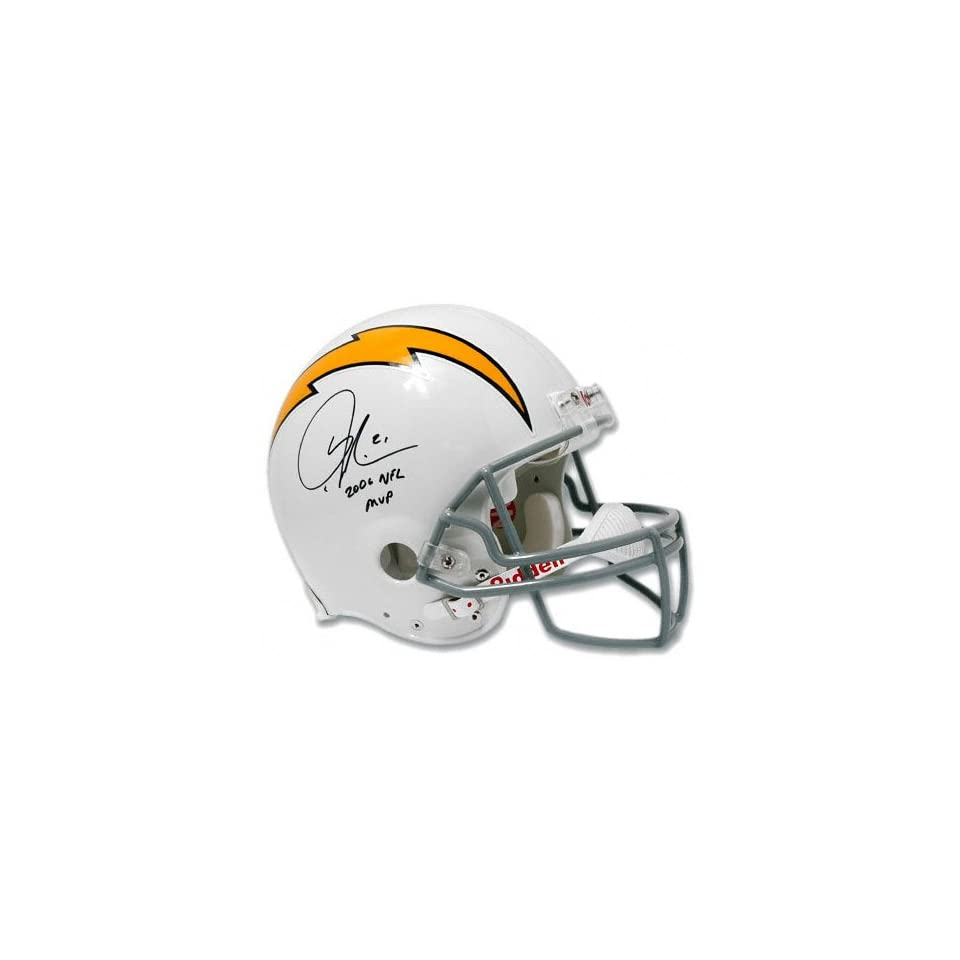 LaDainian Tomlinson San Diego Chargers Autographed Full Size Throwback Helmet with 06 NFL MVP Inscription