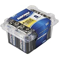 Ray-O-Vac A1604-8PPF Rayovac Propack Battery-PROPACK 9V 8 PK
