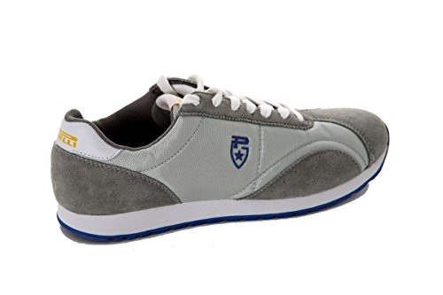 pirelli-zapatillas-de-piel-para-hombre-color-gris-talla-39-ue