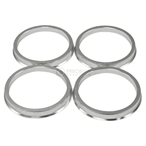 4 pieces – Hubcentric Rings – 67.1mm OD to 64.1mm ID – Aluminum Hubrings