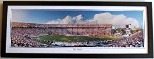Ray Lewis Autographed Hand Signed Miami Hurricanes UM 13.5x39 inch Stadium Panoramic... by Real+Deal+Memorabilia