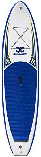 "Aquaglide Cascade 10'6"" Inflatable SUP Board-Blue/White"