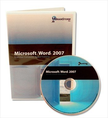 Microsoft Word 2007 Computer Based Training DVD Rom - Learn MS Word with 8 Hours of Lessons on CD That Are Well Organized From Basic to Advanced Features. Almost 200 Word Features Explained By an Experienced MS Office Instructor: Brush up on Your Computer Software Skills with CBT Word Processor / Processing Training