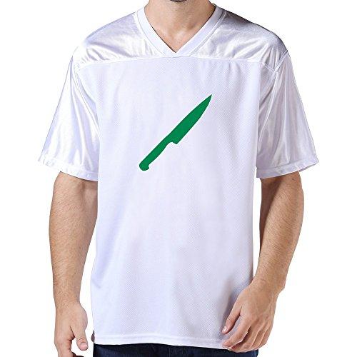 Lfd Men'S Knife American Football Jerseys White
