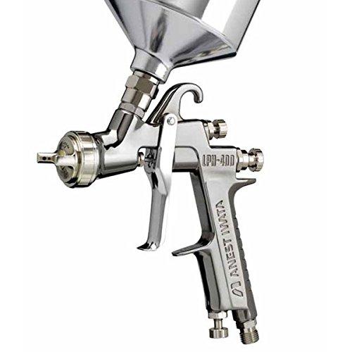 Iwata 5640 Lph400-134lv Center Post Gravity Feed Hvlp Spray Gun