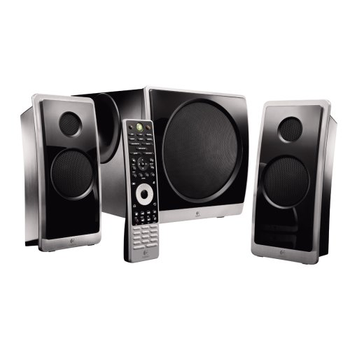 Logitech Z Cinéma Advanced Surround Sound System--2.1 Speakers