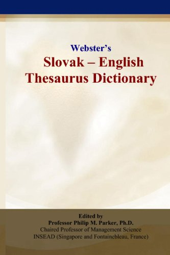 Webster's Slovak - English Thesaurus Dictionary