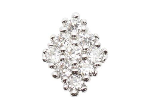 エムプティ ネイルパーツ カーブシリーズ ダイヤモチーフ A134 1個