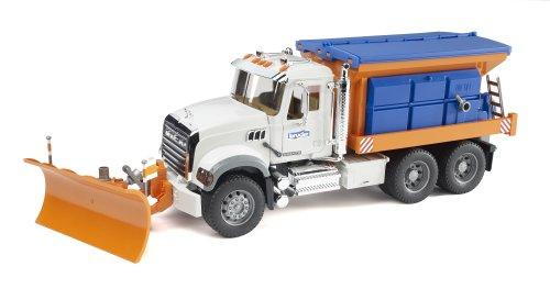 Buy Cheap Bruder Mack Granite Snow Plow Truck Toys