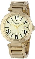 Freelook Women's HA1234GM-3A Cortina Roman Numeral Gold Watch