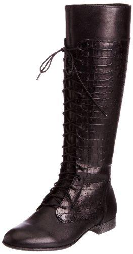 hush-puppies-farland-14-bt-botas-planas-talla-36-color-negro-noir-black-wp-leather