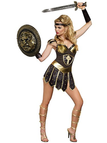 Dreamgirl Women's Queen of Swords Warrior Costume