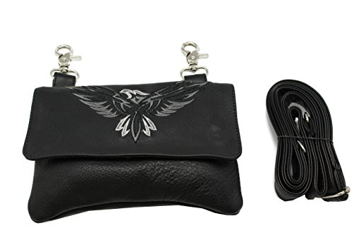 leather-biker-hip-pouch-fanny-cross-body-loop-bag-eagle-embroidery-fits-iphone-6-plus-grey-jtc-51216