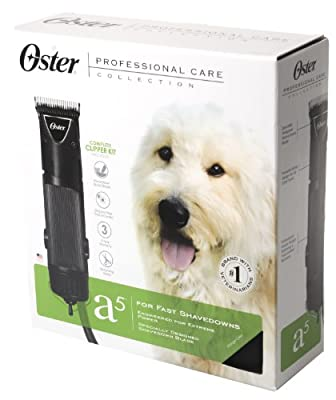 Oster Professional Care A5 Golden 2-Speed Pet Clipper Kit