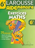Aide-M�moire : Exercices de maths, 6�me